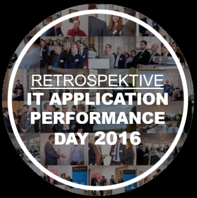 Retroperspektive IT APPLICATION PERFORMANCE DAY 2016