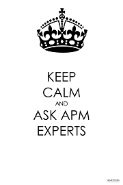 Keep Calm and Ask APM Experts