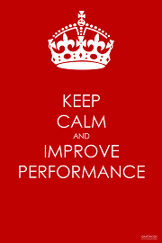 Keep Calm and Improve Performance