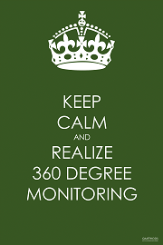 Keep Calm and Realize 360 Degree Monitoring