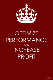 Optimize Performance and Increase Profit